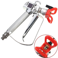 Pro Airless Paint Spray Gun With Tip Guard For Graco Titan Wagner Pumps Sprayer Tools Airless