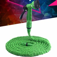 125FT Expandable Garden Hose Thread Expanding Magic Flexible Car Wash Watering Hose Plastic Hose Pipe With Spray Gun Tube Hose 5