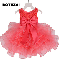 2017 Top quality princess dress for little girl long dresses Sequins Ceremonies wedding gown dress flower girl vestido nina red