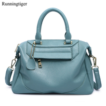Brand New Litchi Pattern Soft PU Leather Women Handbag Two Pieces Female Shoulder Bag Women Small Casual Shopping Women Bag