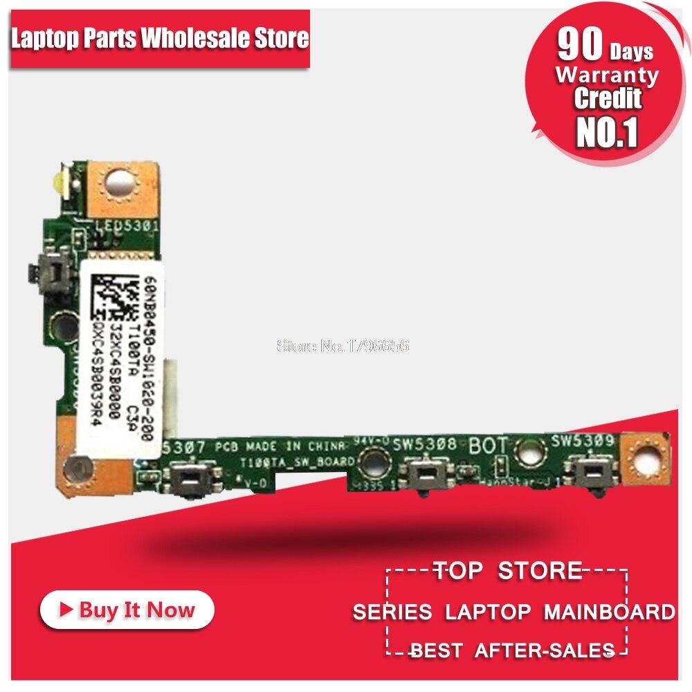 Для планшета T100 T100TA T100T T100TAF переключатель вкл. Выкл. Блок управления громкостью T100TA_SW_BOARD