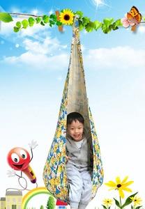 Image 5 - Качели подвески для детей, детский гамак, кресло качели для дома и улицы, подвесное сиденье, детское качели с надувной подушкой