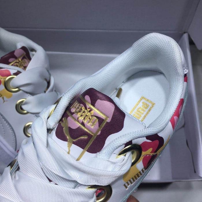 Прибытие в Исходном PUMA Rihannas женская обувь Пескара kawasaki Дышащий Кроссовки Бадминтон Обувь размер36-39