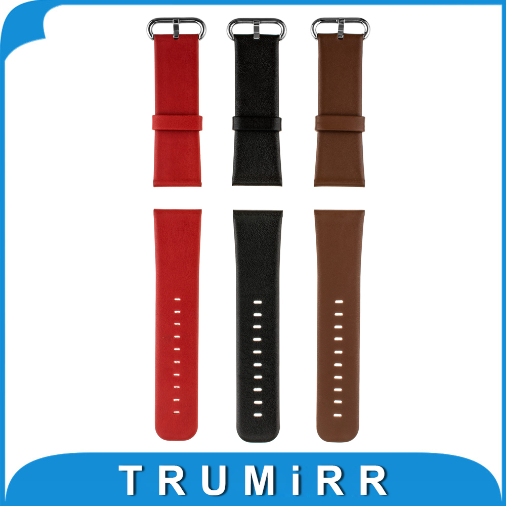 Universal Watchband Genuine Leather 22mm 24mm Watch Band Replacement Bracelet Strap with Tool and Spring Bar Black Brown Red 24mm nylon watchband for suunto traverse watch band zulu strap fabric wrist belt bracelet black blue brown tool spring bars