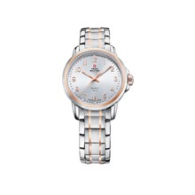 Наручные часы Swiss Military SM34040.11 женские кварцевые на биколорном браслете