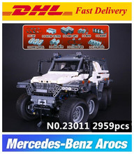 New LEPIN 23011 2959Pcs Technic Series Off-road vehicle car-styling Model Building Kits Block Bricks Compatible 5360 fun Toys