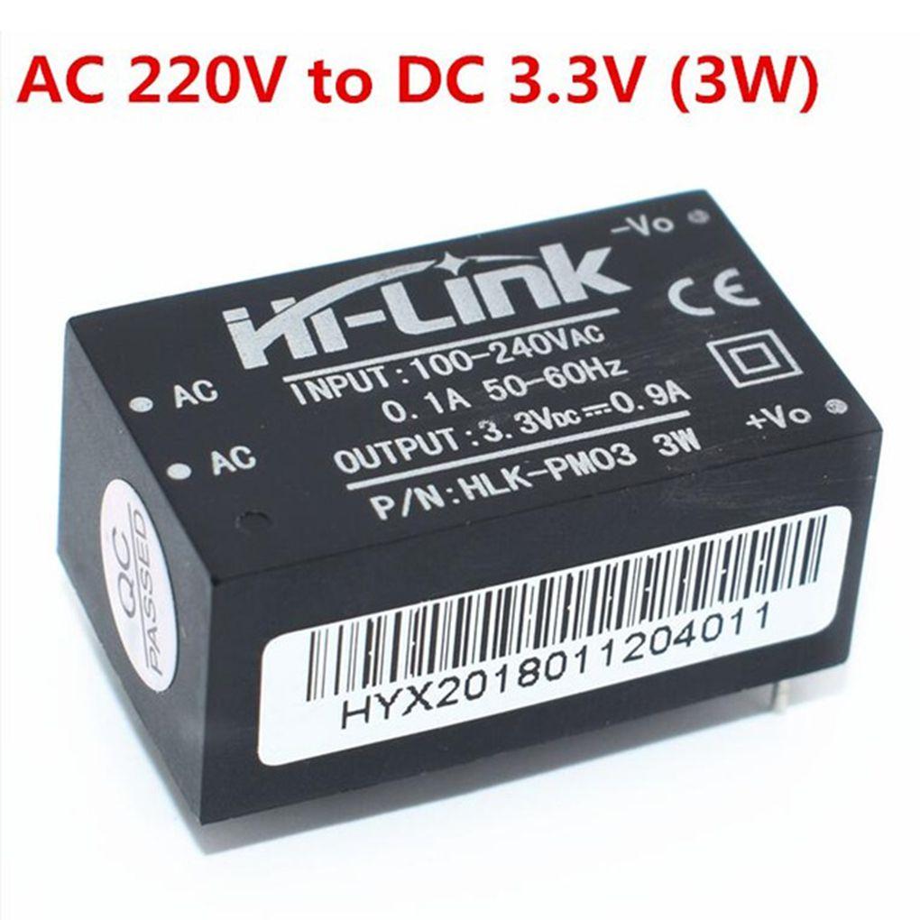 HLK-PM01 HLK-PM03 HLK-PM12 Mini Power Supply Module Intelligent Household Switch Power Module AC-DC 220V to 5V/3.3V/12V