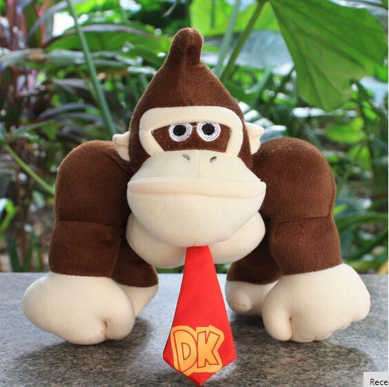 Super Mario Bros 10 in 25cm Donkey Kong Plush font b Toy b font Monkey Nintendo
