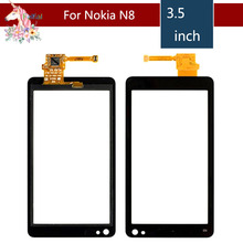 3.5 For Nokia N8 N 8 LCD Touch Screen Digitizer Sensor Outer Glass Lens Panel Replacement 3 5 for nokia n8 n 8 lcd touch screen digitizer sensor outer glass lens panel replacement