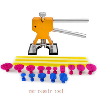 New 22pcs DIY Paintless Dent Repair Tools Golden Dent Lifter Spiral Pro Tabs Kit