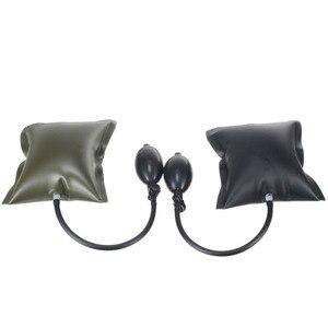 Image 4 - Black/Green Car Air Pump Wedge Auto Door Window Open Air Inflatable Pump Wedge Pad Entry Shim Repair Tools