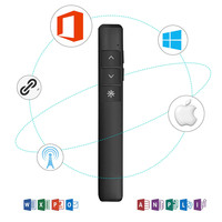 USB Wireless Presenter Rechargeable Wireless PPT Remote Control Laser Pointer For Powerpoint Presentation Remote Control Pen