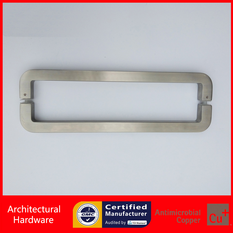 Precision Cast 304 Grade Stainless Steel Door Pull/Push Handle For Shop/Store/Office Entrance Doors PA-1571 304 grade stainless steel black pull handle entrance door handles for wooden glass metal doors pa 135 38 800mm