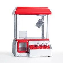 ABS Пластик автомат конфеты грейфер автомат игрушечная мини-кукла коготь машина слот аркадная игра конфеты монетные игровой развлекательный