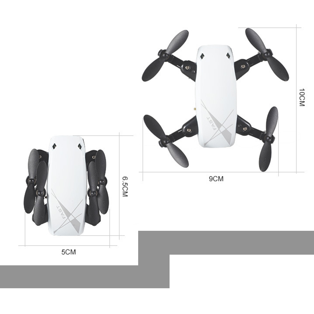 WIFI FPV Mini Drone with Camera 2.4G 4CH 6-axis RC Quadcopter Nano Drone RC WIFI FPV Drone Phone Control Toy Christmas gift 15