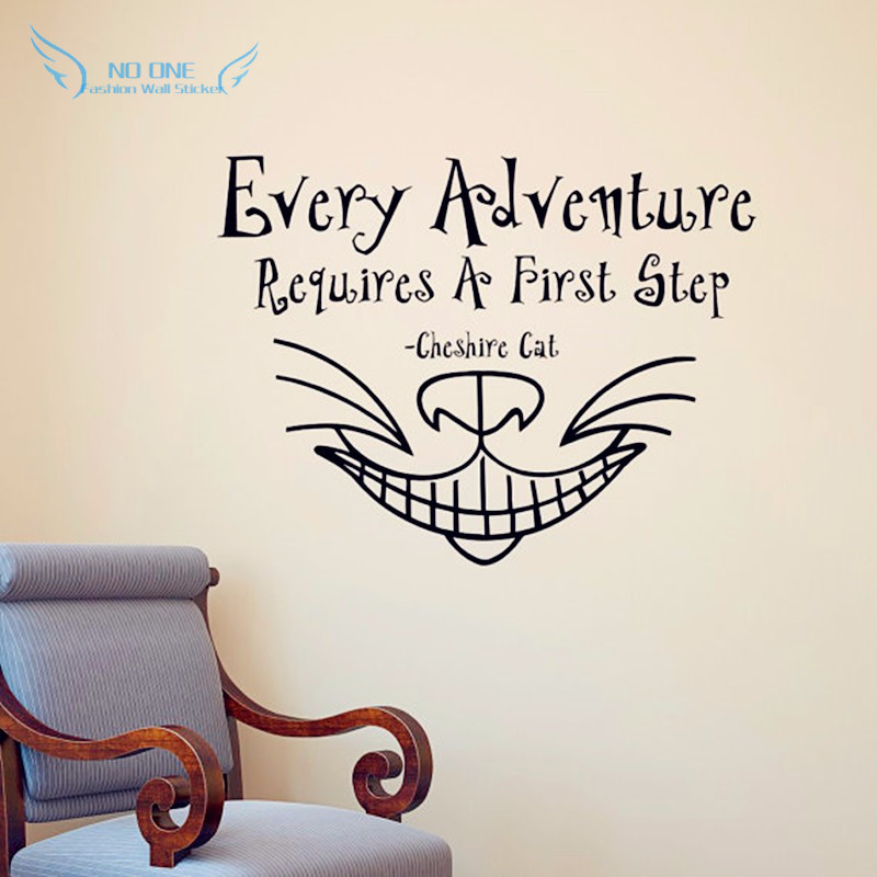 Alice In Wonderland Wall Sticker Quot Every Adventure