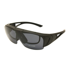 38500242dccc Polarized Fit Over Glasses Lens Cover Flip Up Wear Over Prescription  Glasses Rx Insert Outdoor Sports