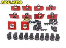 FOR VW CC front bumper grille bracket parking sensor holders support 3C8 919 493C 494C 491B