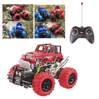 Remote Control Car Electric Toy Remote Control Toy Electric Suv PVC Remote Control ABS Colours Cross Country Climb Hobby Cool