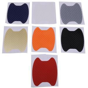 Image 3 - 4 unids/lote, manija Universal para puerta de coche, rasguños, batidos de automóvil, película protectora de vinilo, Protector de manija de coche