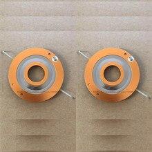 2 pces diafragma para jbl 2404; 2404h 1; 2405;2405h; para peavey ht94 8 ohm bobina de voz