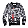 Harajuku Sportwear men 3d 23 print Sweatshirts hip hop hoodies outwear sudaderas hombre 2016 clothing