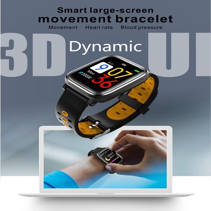 OGEDA Men Smart Watch Q58 Heart Rate Monitoring Sphygmomanometer Step Smart Clock Bluetooth Waterproof Sports Watch sitemap 120 xml