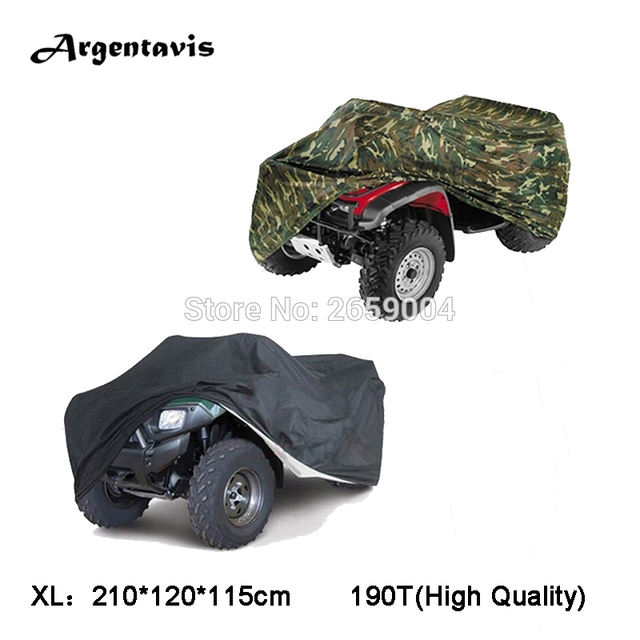 Free shipping Quad bike / ATV / ATC cover Waterproof Resistant Dustproof Anti-UV Sizes XL Black Silver Available