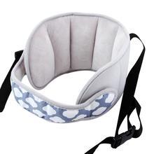 Автомобильное сиденье с опорой для головы, детское кресло с фиксированным ремнем, подушка, регулируемое безопасное сиденье, защита подголовника, портативная Универсальная