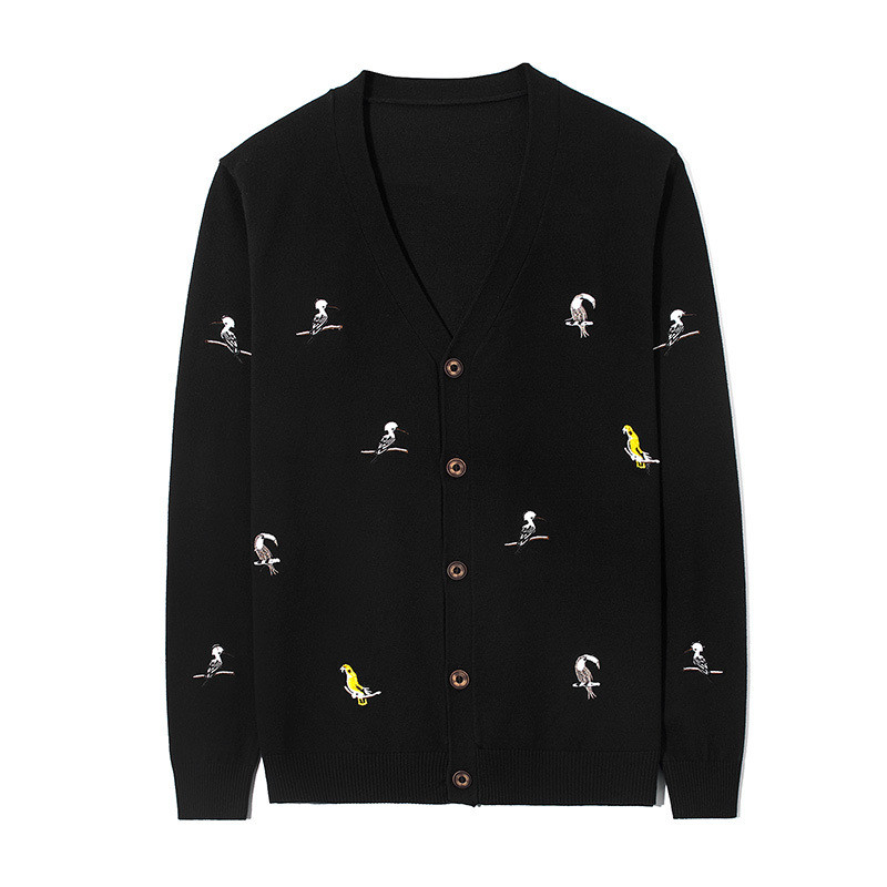SIMWOOD 2019 autumn New Denim Jacket Men Fashion Slim Fit Casual Jeans Coats Dark Wash 100