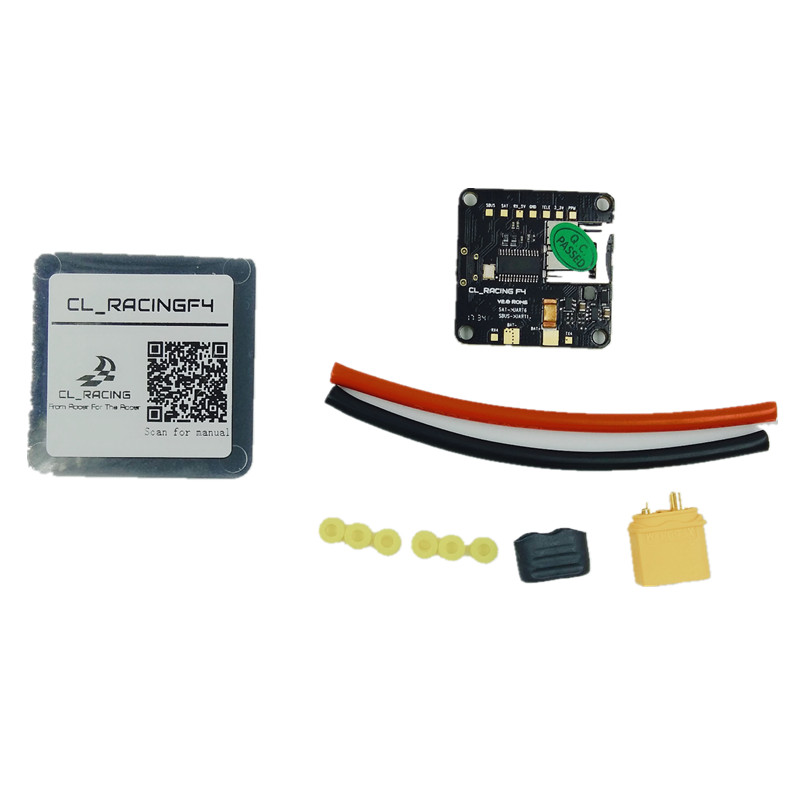 CL Racing F4 Flight Controller with Betaflight OSD SD Card Slot Current Voltage Sensor PDB Buzzer Support DSHOT ESC STM32 AIO цена