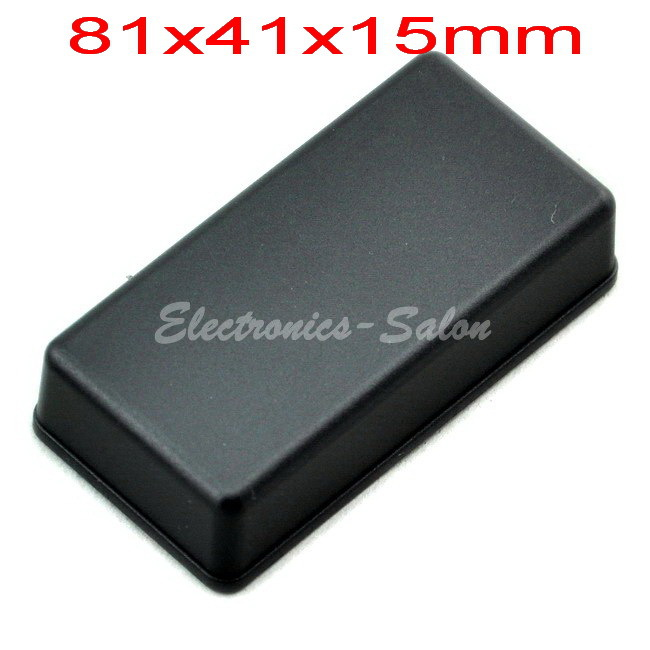 Small Desk-top Plastic Enclosure Box Case,Black, 81x41x15mm,  HIGH QUALITY.