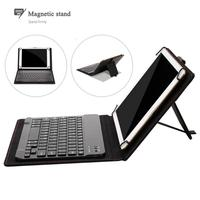 Newest Black Separable Bluetooth Keyboard Leather Protective Case With USB Charging Cable For 8 8 9