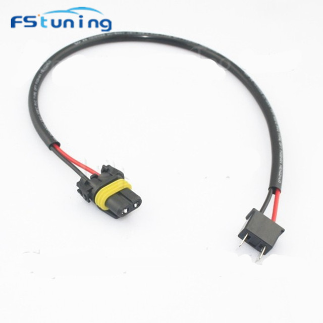 fstuning 10pcs h7 socket to 9006 hb4 wire harness hid xenon power 9006 bulbs review fstuning 10pcs h7 socket to 9006 hb4 wire harness hid xenon power cable relay connector xenon