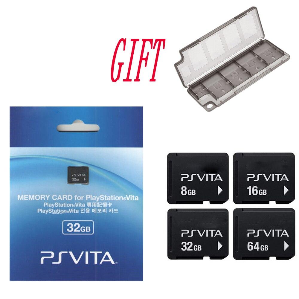 Para Sony PS Vita PSV 1000 2000 4G 8G 16G 32GB 64GB Cartão De Memória para cartão De Memória PSVita Original com Caixa de Armazenamento De presente