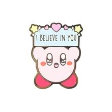 Kirby insignia pin broche