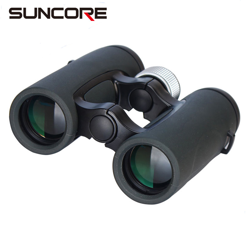 SUNCORE-High quality 8/10X32 hunting open hinge binoculars/outdoor open hinge binoculars suncore 10x42 powerview super high powered surveillance binoculars