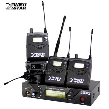 EK300 IEM G3 Professional Monitoring USB Transmitter Wireless In Ear Earphone Stage Monitor System 5 Beltpack Receiver Headphone