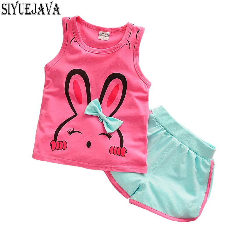 2pcs / lot vaikai mados kūdikių mergaičių drabužių rinkinys - Kūdikių drabužiai - Nuotrauka 3
