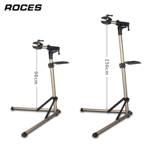 Image 4 - Aluminum Alloy Bike Repair Stand Professional Fixed Folding Home Mechanic Work Stand Adjustable Maintenance Storage Stand