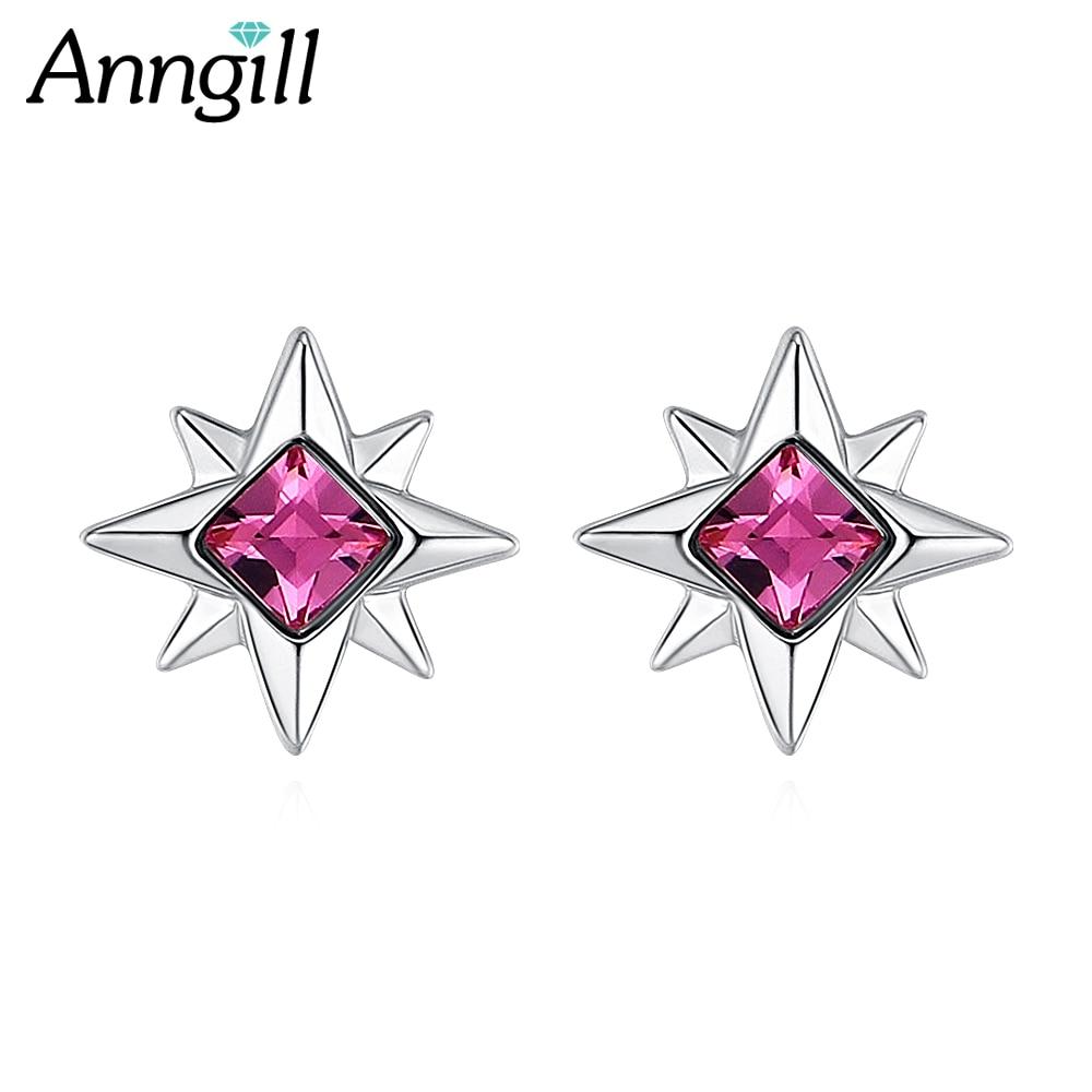 Crystals From Swarovski Star Earrings Charming Ladies