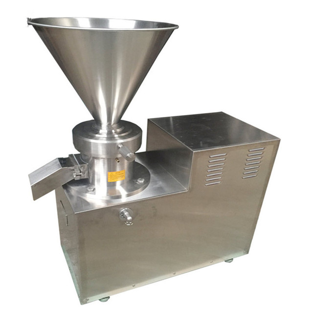 2019 High Power Collliod Mill Full Stainless Steel Peanut Sesame Butter Grinding Machine 180KGS/H Peanut Butter Maker