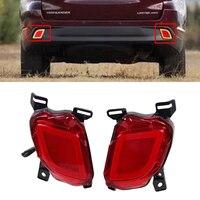 Car 12V LED Rear Bumper Brake Lights Turn Signal Lamps DRL Taillights Tail Fog Lights For