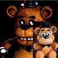 """Место! Официальный пять ночей на фредди 4 FNAF фредди Fazbear плюшевые игрушки куклы 10 """" для детей рождественские подарки"""