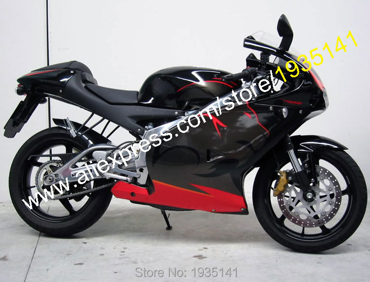 Vendite calde, ABS Body Kit Per Aprilia RS 125 Carenature 2001 2002 2003 2004 2005 RS125 01 02 03 04 05 Lionhead Set Motociclo Carenatura