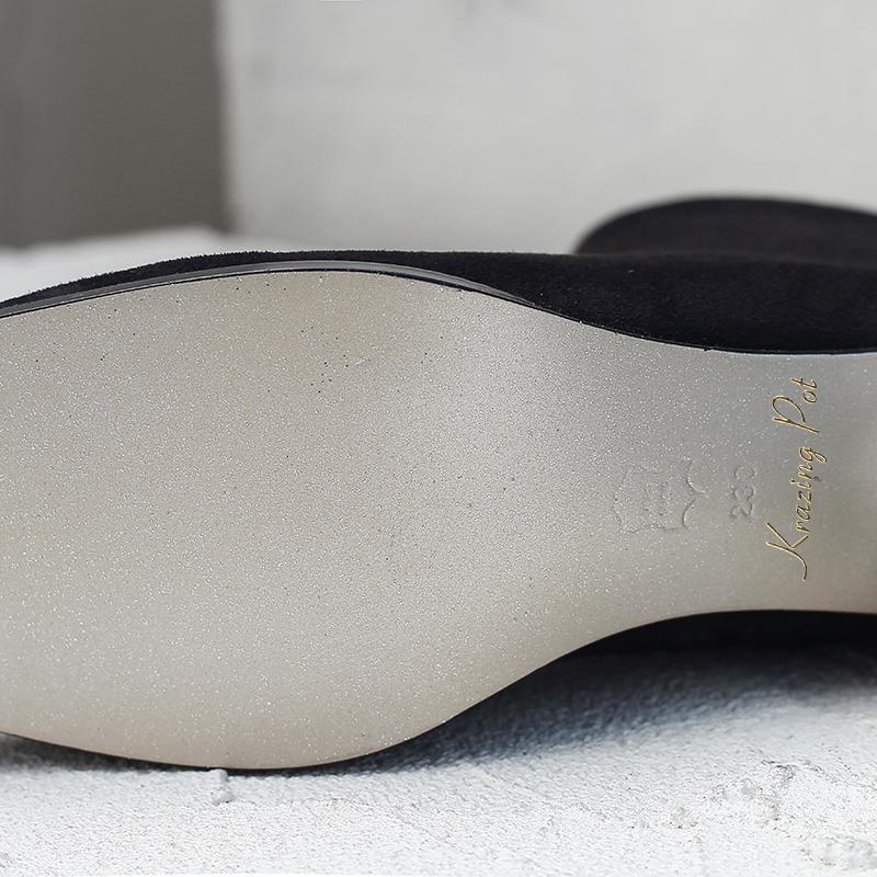 Chaud Nouvelle Cheville Noir Élégant Chaussures Moto Solide rose Zipper Taille Cristal Arrivée Talon Bottes Grande Lwf4 Doux 2018 Carré Au Garder Hiver Cd404