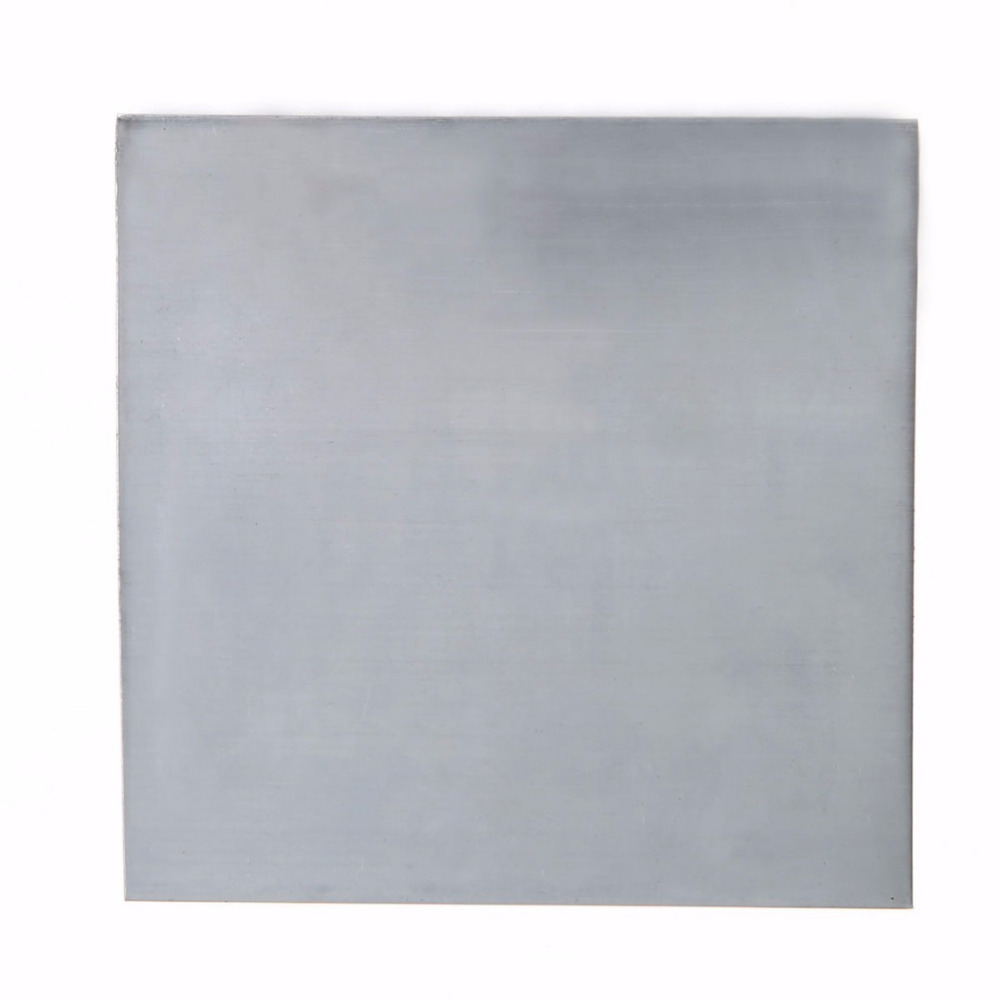 5Pcs High Purity 99.9/% Pure Zinc Zn Sheet Plate 140x140x0.2mm for Science Lab