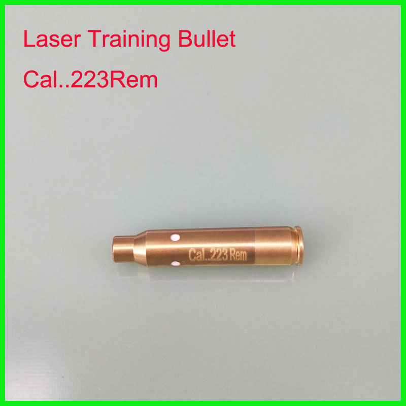 CAL 223REM laser ammo laser bullet laser trainer pistol laser cartridge for dry fire training-in Lasers from Sports & Entertainment