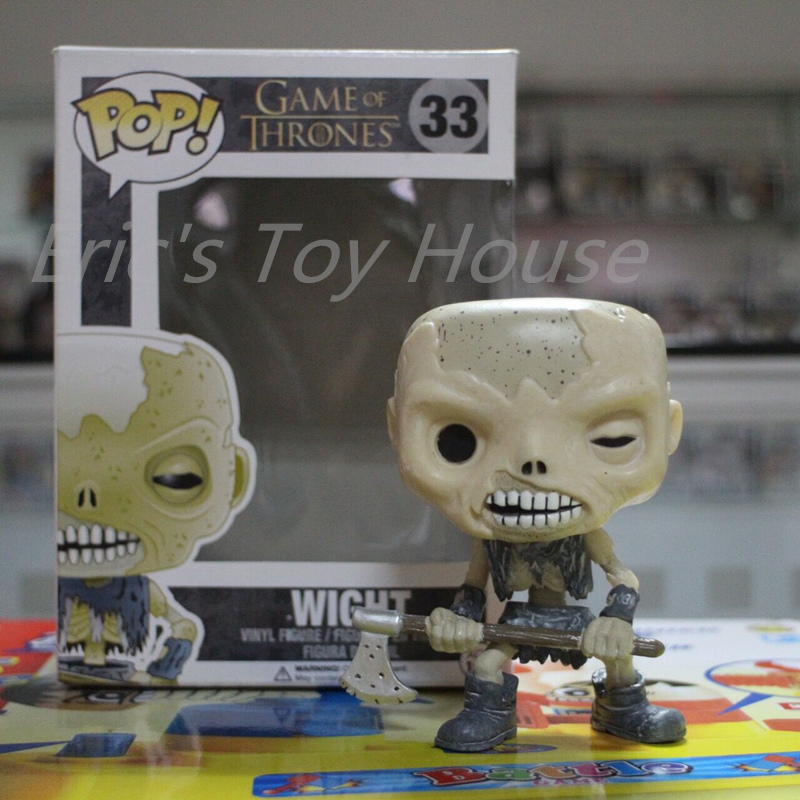 FUNKO POP Official Game of Thrones - Wight Walkers Vinyl Figure Model Doll Collection Toys with Original boxFUNKO POP Official Game of Thrones - Wight Walkers Vinyl Figure Model Doll Collection Toys with Original box