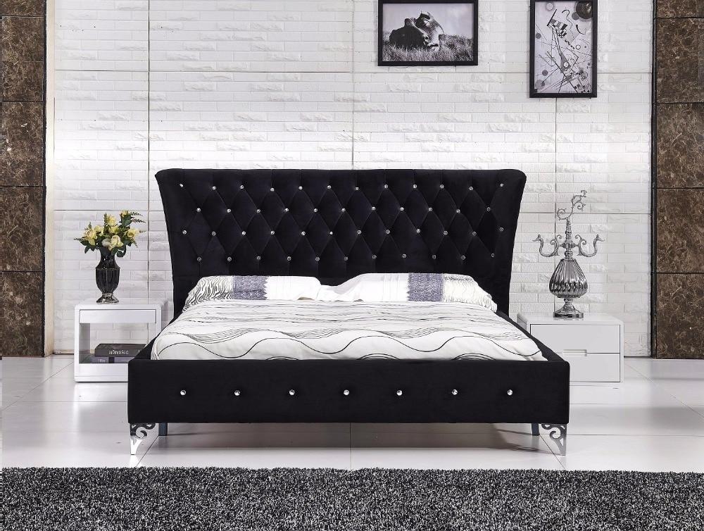 2017 Soft Bed Muebles Para Casa Promotion No Soft Bed King Bedroom ...